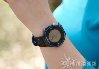 The Garmin Forerunner 620.