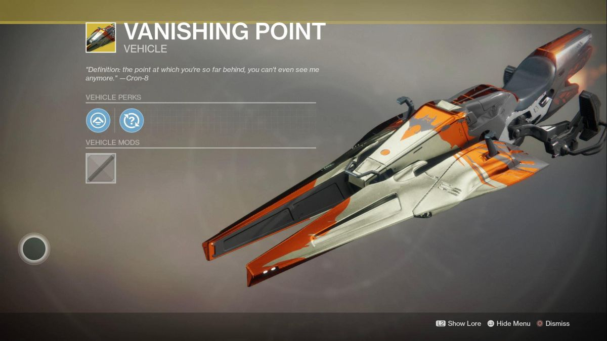 Here's how you get a Sparrow in Destiny 2