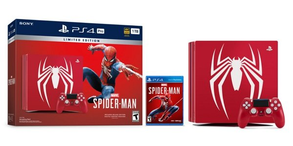 The Spider-Man PS4 bundle.