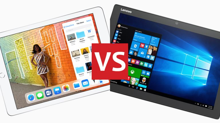 iOS vs Windows 10: what's best for your tablet?