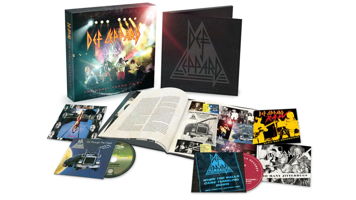 Def Leppard detail The Early Years box set