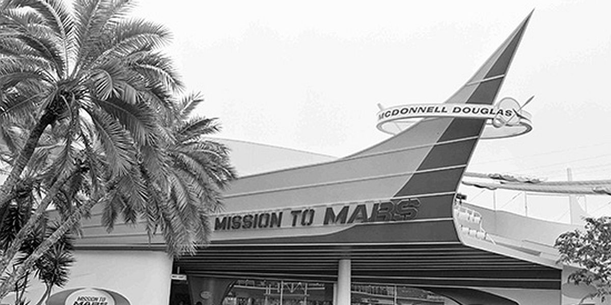 Mission to Mars show building
