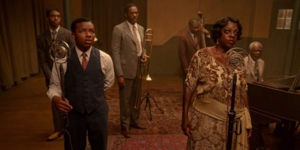 Dusan Brown, Viola Davis - Ma Rainey's Black Bottom
