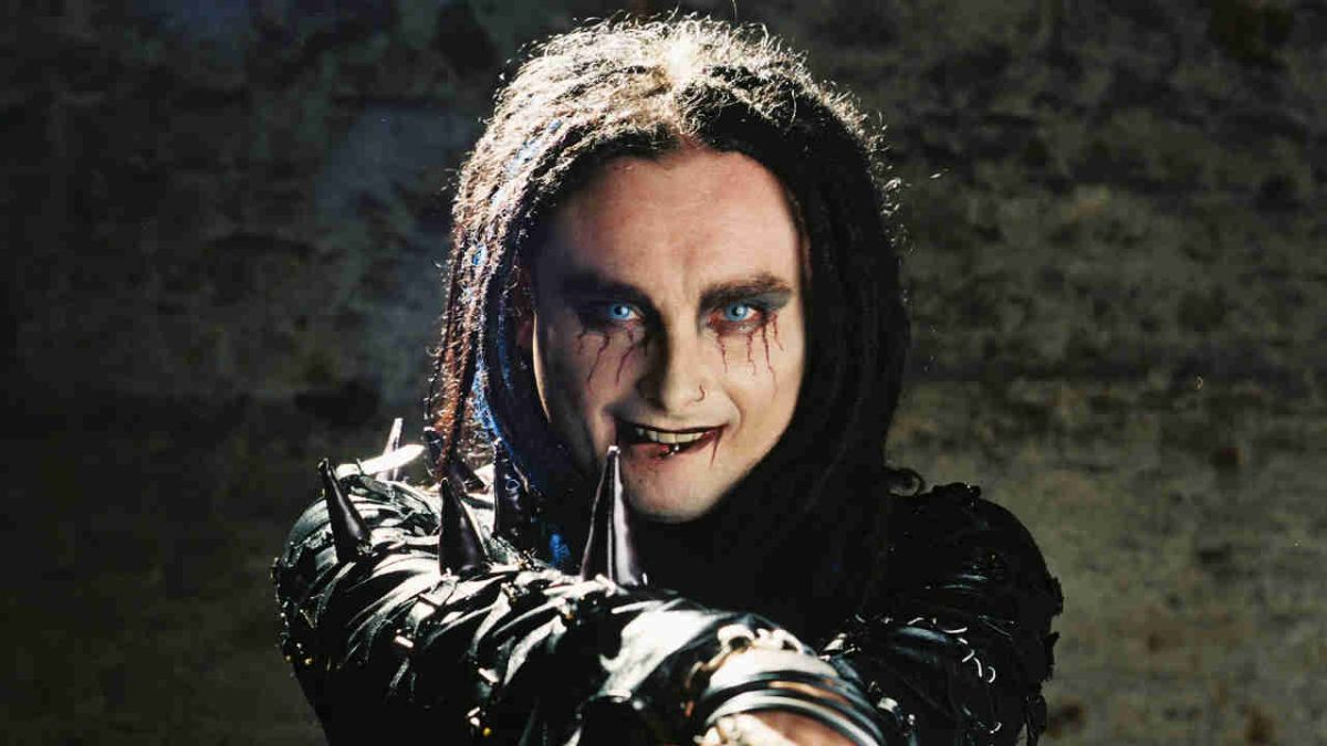 """Dani Filth on Never Mind The Buzzcocks: """"I punched Mark Lamarr's assistant"""""""
