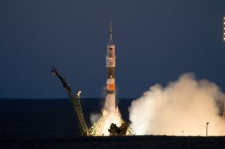 Soyuz rocket launch