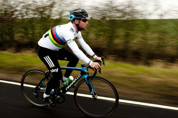 Mark Cavendish 2012, by The Sun