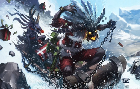Blizzard Says Happy Holidays With Witch Doctor Grinch #20105