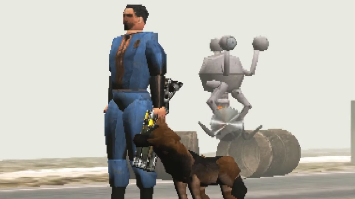 Far Cry 5, Fallout 4, GTA 5 and more totally work as PS1 games