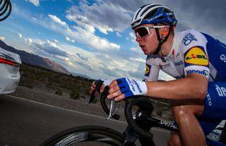 Deceuninck-QuickStep's Remco Evenepoel in action on stage 1 of the 2020 Vuelta a San Juan in Argentina