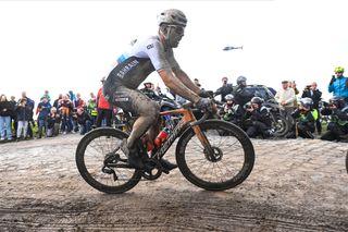 Sonny Colbrelli at Paris-Roubaix 2021