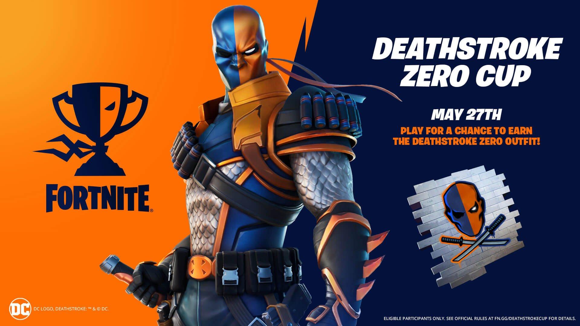 Deathstroke Fortnite skin
