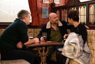 Coronation Street: Tim Metcalfe sees right through Charlie…