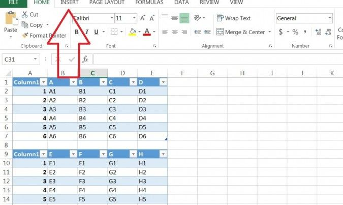 How To Create A Pivot Table Based On Multiple Tables In