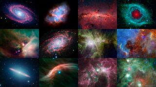 Spitzer Telescope Digital Calendar