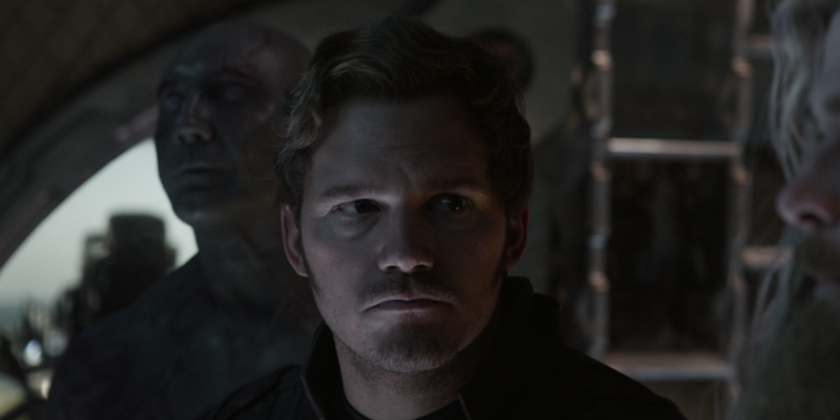 Chris Pratt talking to Thor in Avengers: Endgame