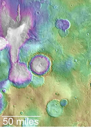 Young valleys on Mars