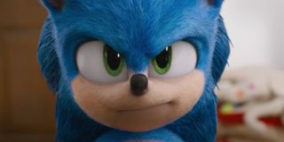 Sonic the Hedgehog movie design