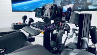 The Sim-Lab P1-X SFX-100 DIY Motion Sim Rig