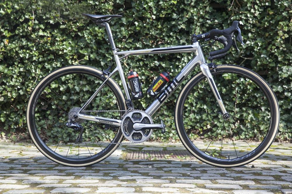 Greg Van Avermaet's Ghent-Wevelgem winning BMC Team ...
