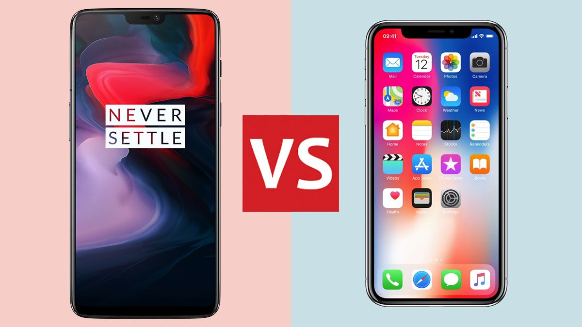 OnePlus 6 vs Apple iPhone X: the Android and iOS flagships battle it out