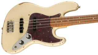 Fender has introduced the 60th Anniversary Road Worn Jazz Bass