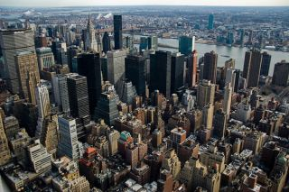 Sky-high view of Manhattan. Credit: Patrick Theiner | Creative Commons
