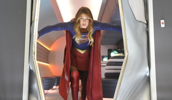 Kara as Supergirl