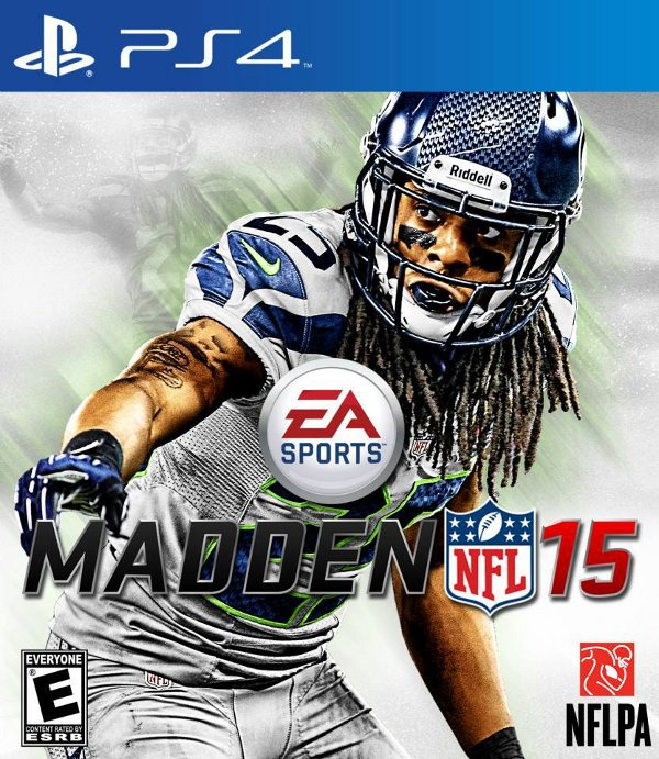 Madden 15 Box Art