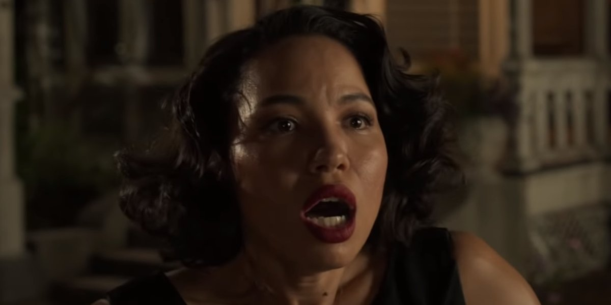 Jurnee Smollett as Letti on Lovecraft Country