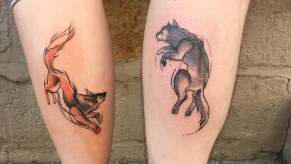 Fox tattoos