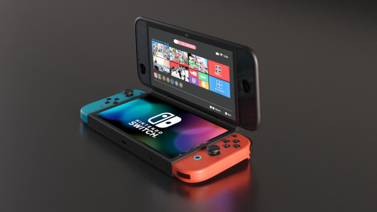 Nintendo Switch 2 concept design