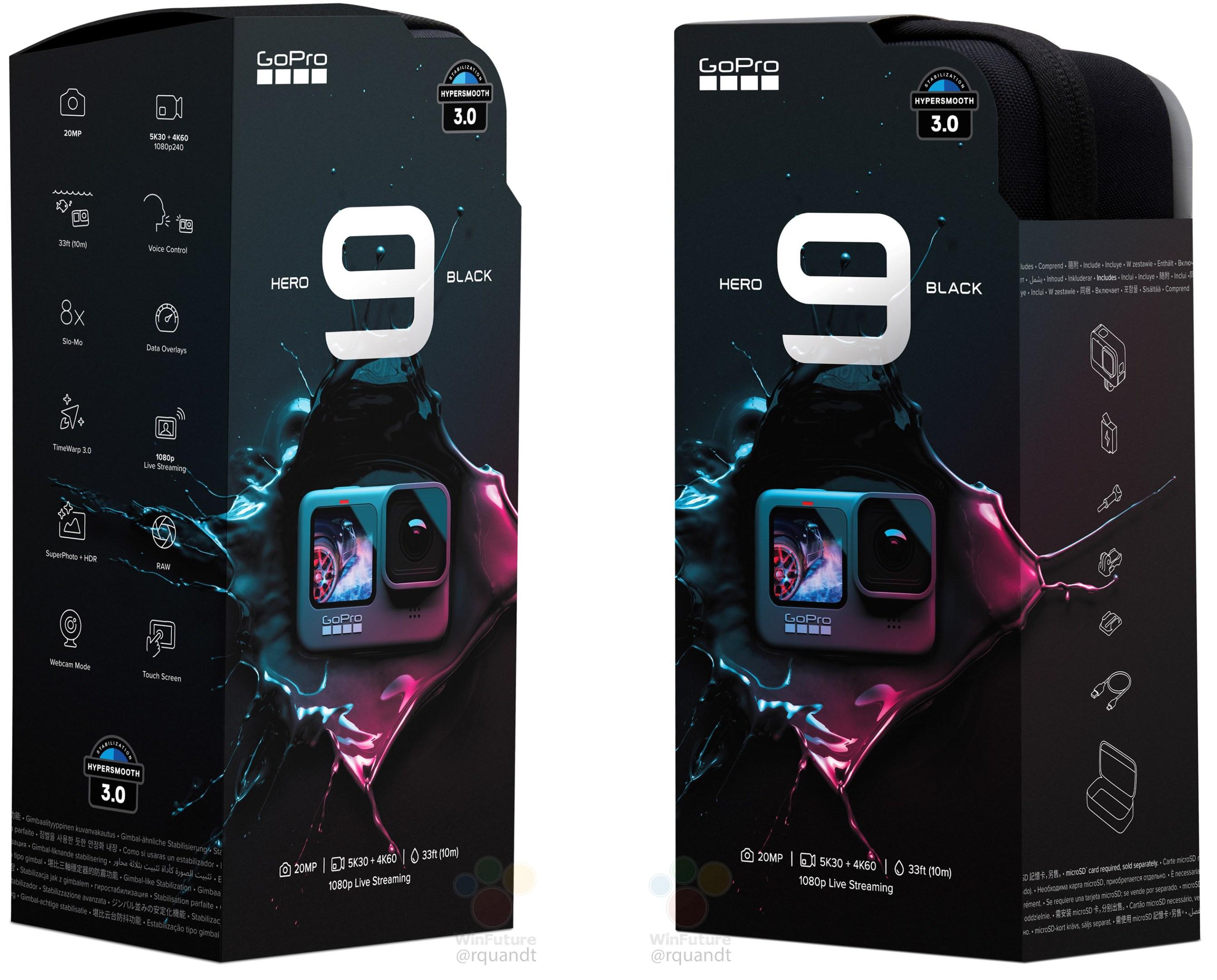 GoPro Hero 9 packaging