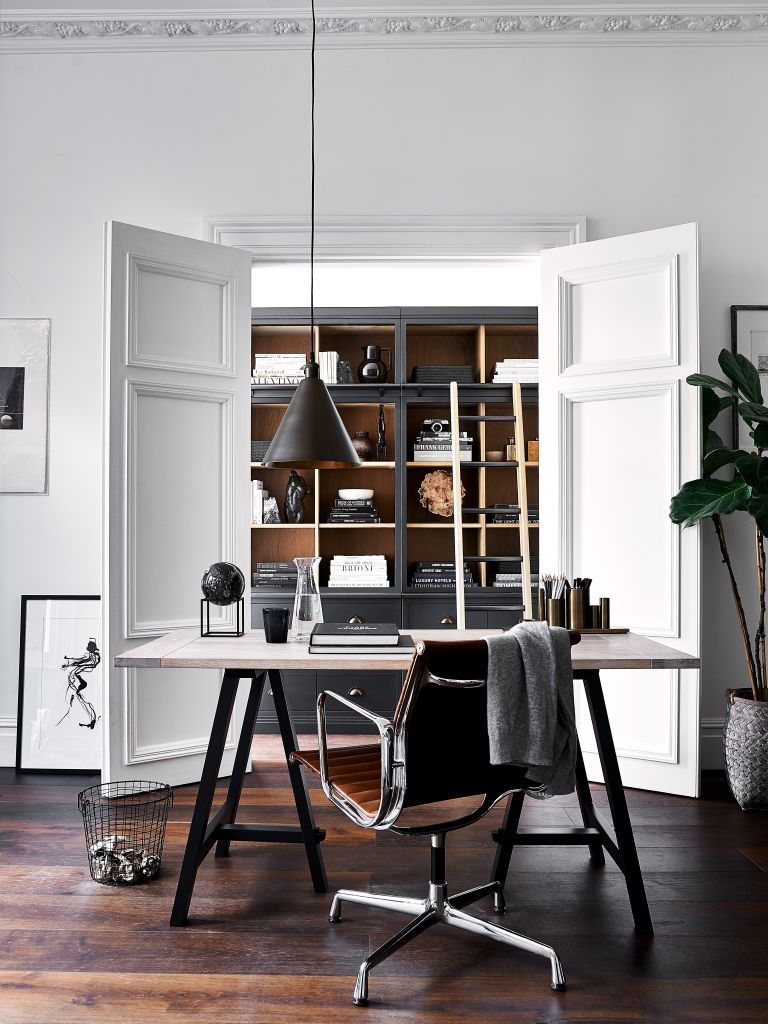 Tidssvarende Home office storage: 17 ideas for a tidy and inspiring work space OH-22