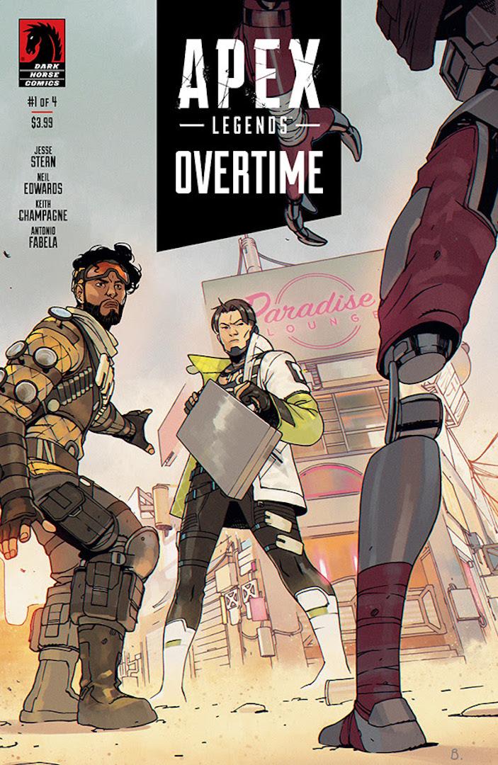 Portada de Apex Legends: Overtime # 1