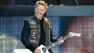 Metallica frontman James Hetfield