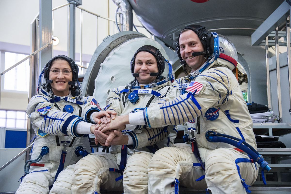 NASA Astronauts Gear Up for Launch to Space Station Next Month