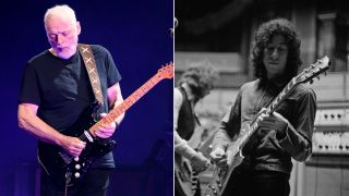 David Gilmour and Peter Green