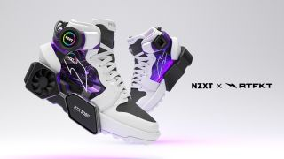GeForce RTX 3080 powered gaming sneaker