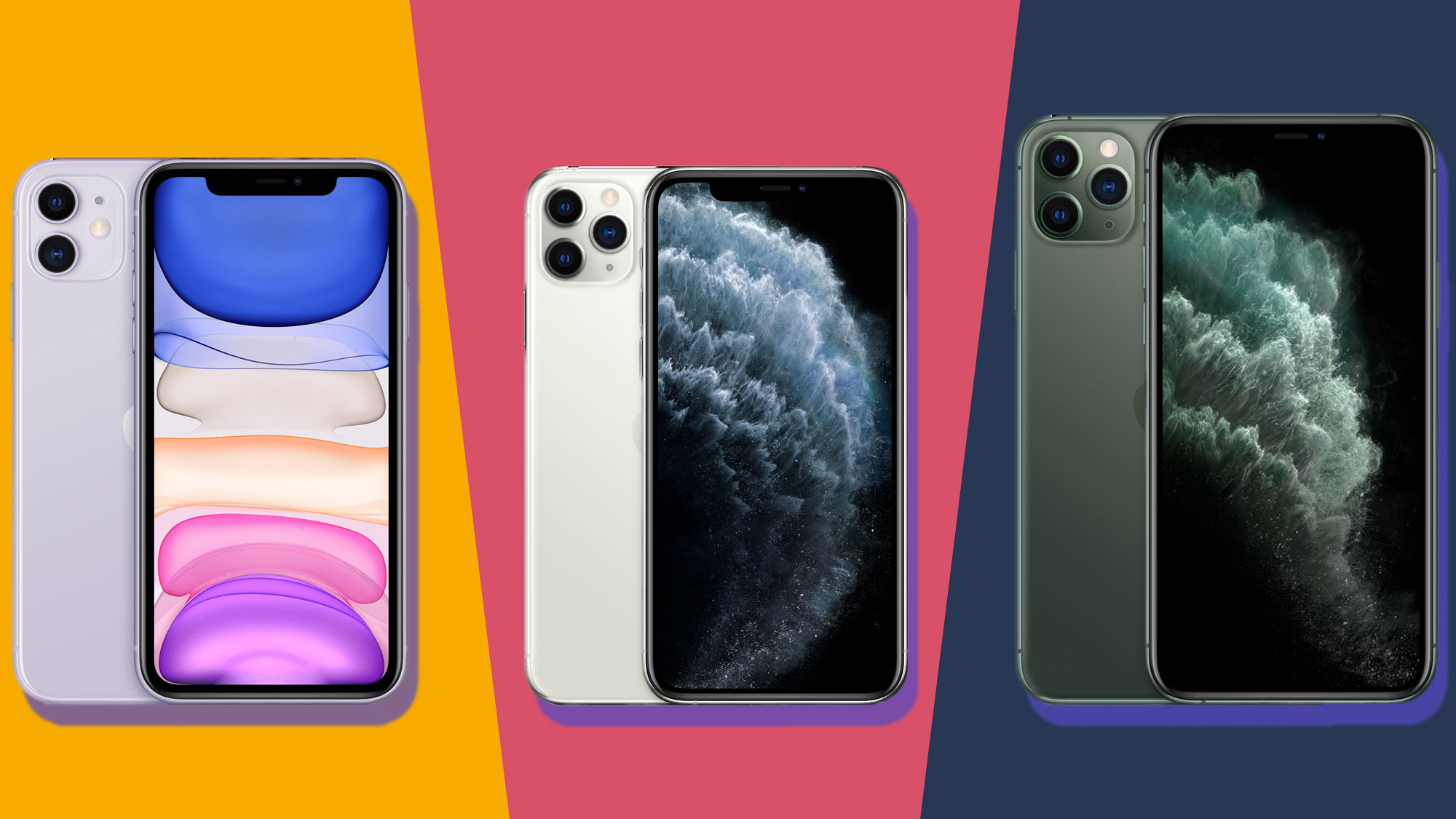 iPhone 11 vs iPhone 11 Pro vs iPhone 11 Pro Max the new