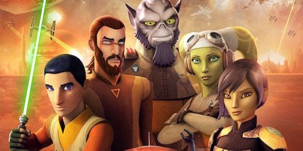 Star Wars Rebels Season 4 cast