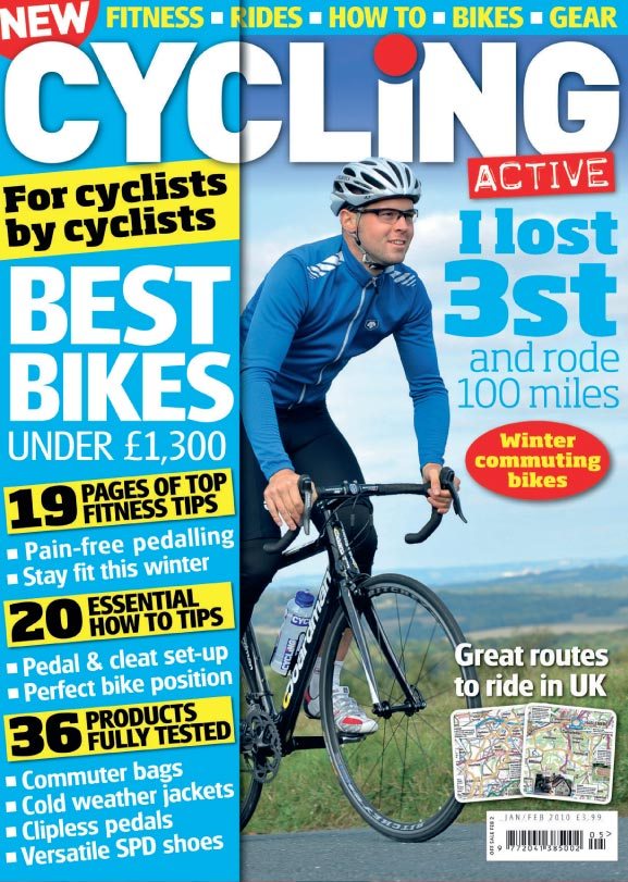 Cycling Active Jan Feb 2010 cover