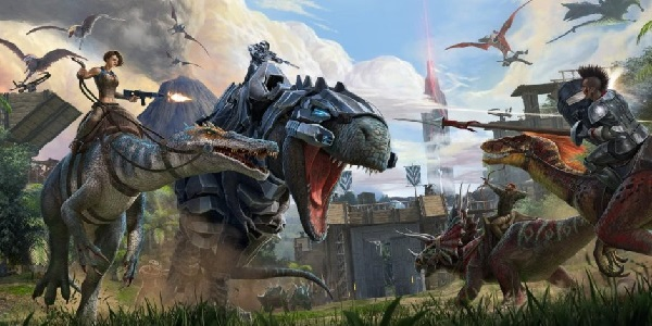 Armored dinosaurs rampage Ark