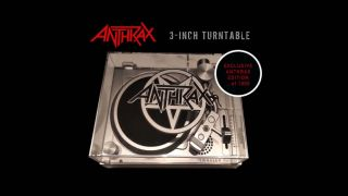 Anthrax rocks Record Store Day... with a 3-inch mini turntable