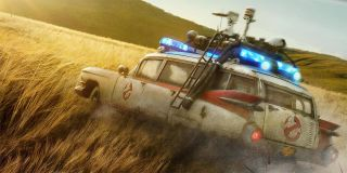Ghostbusters Afterlife Poster Ecto-1