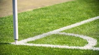 football equipment, corner flag