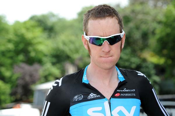 Bradley Wiggins, Tour de France 2012, stage one recce ride