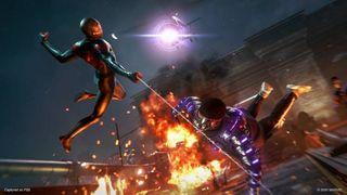 Spider-Man: Miles Morales combat