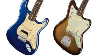 Fender American Ultra Stratocaster HSS and Jazzmaster