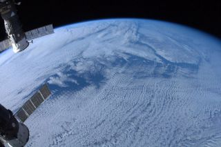 Canadian astronaut Chris Hadfield snapped this photo of Earth from space from the International Space Station during the Expedition 34 mission.