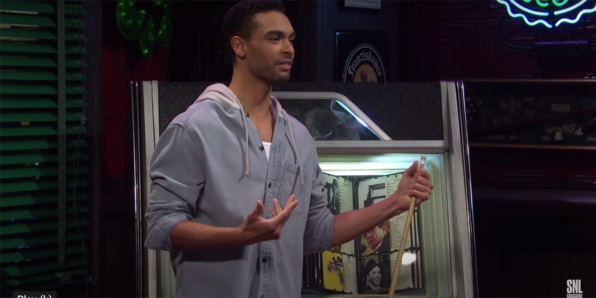 Rege-Jean Page Singing Drivers License On SNL